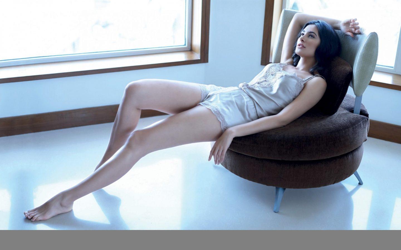 Nargis Fakhri Sexy Legs Stills