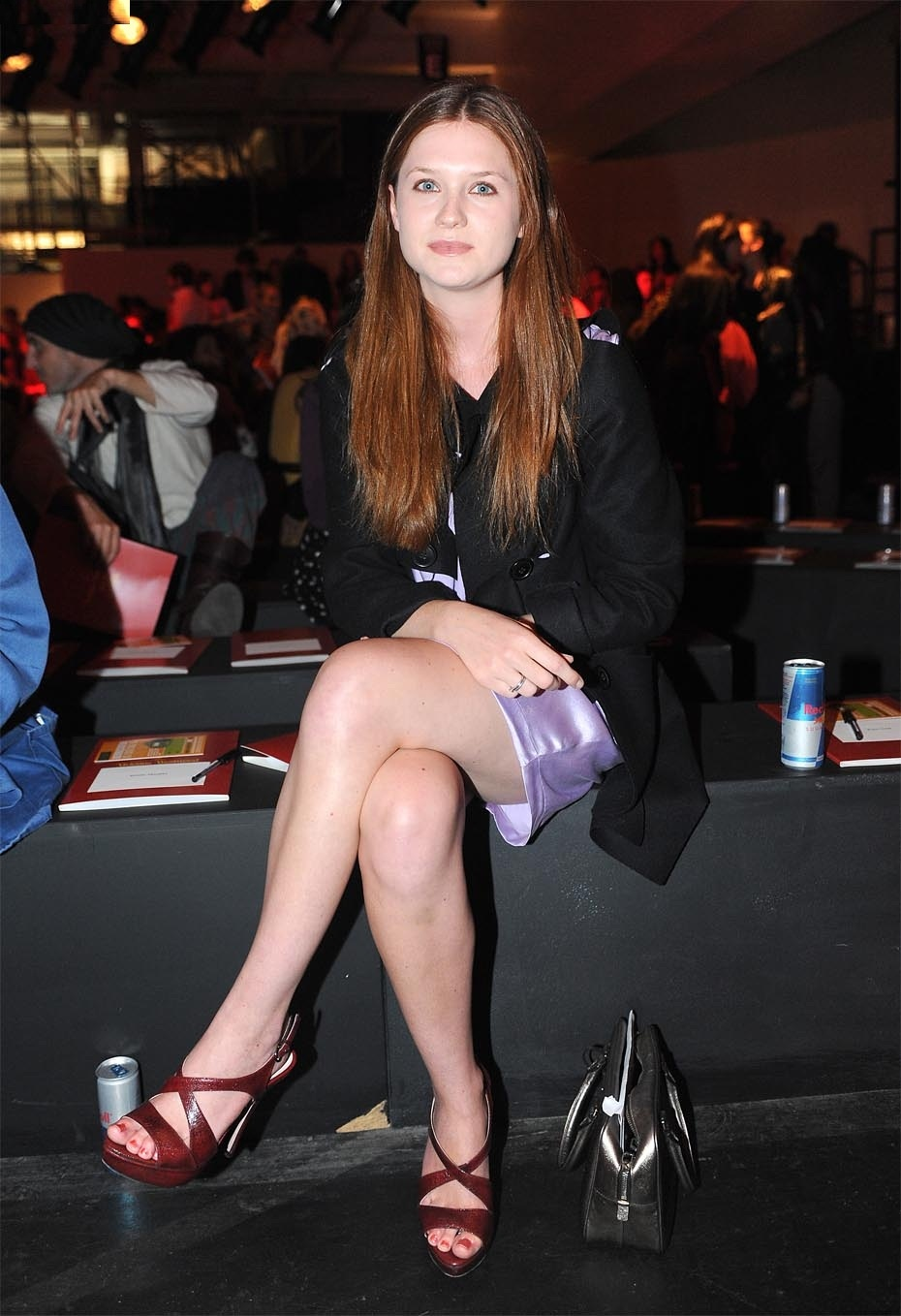 Bonnie Wright Hot Bikini Photos, Sizzling Cleavage Topless Image Wallpapers - Photoclickz-8559