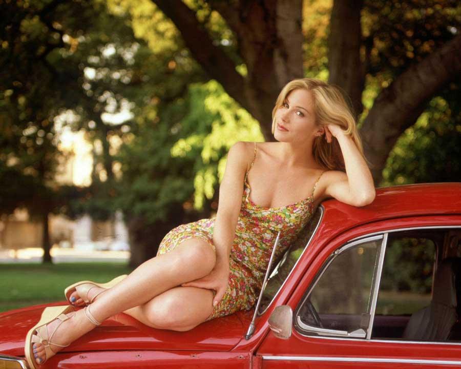 Christina Applegate hot bikini wallpapers
